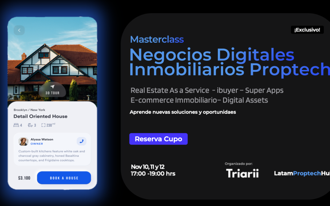 Curso en Negocios Digitales Inmobiliarios Proptech